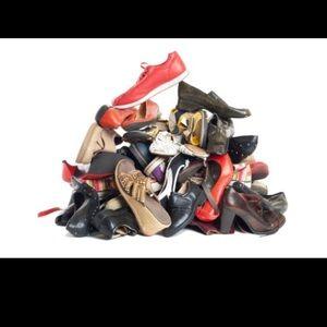 Shoes - Flats, boots, loafers, flip flops, sandals, ETC...